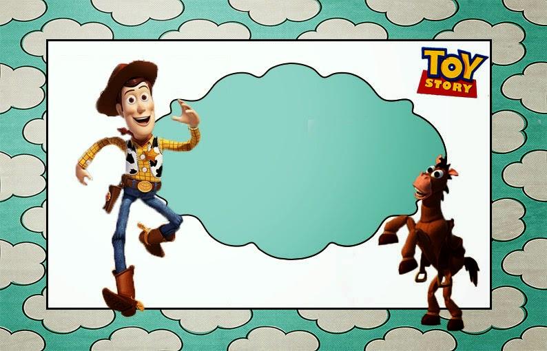 Toy Story: Invitaciones para Imprimir Gratis. | Ideas y material ...