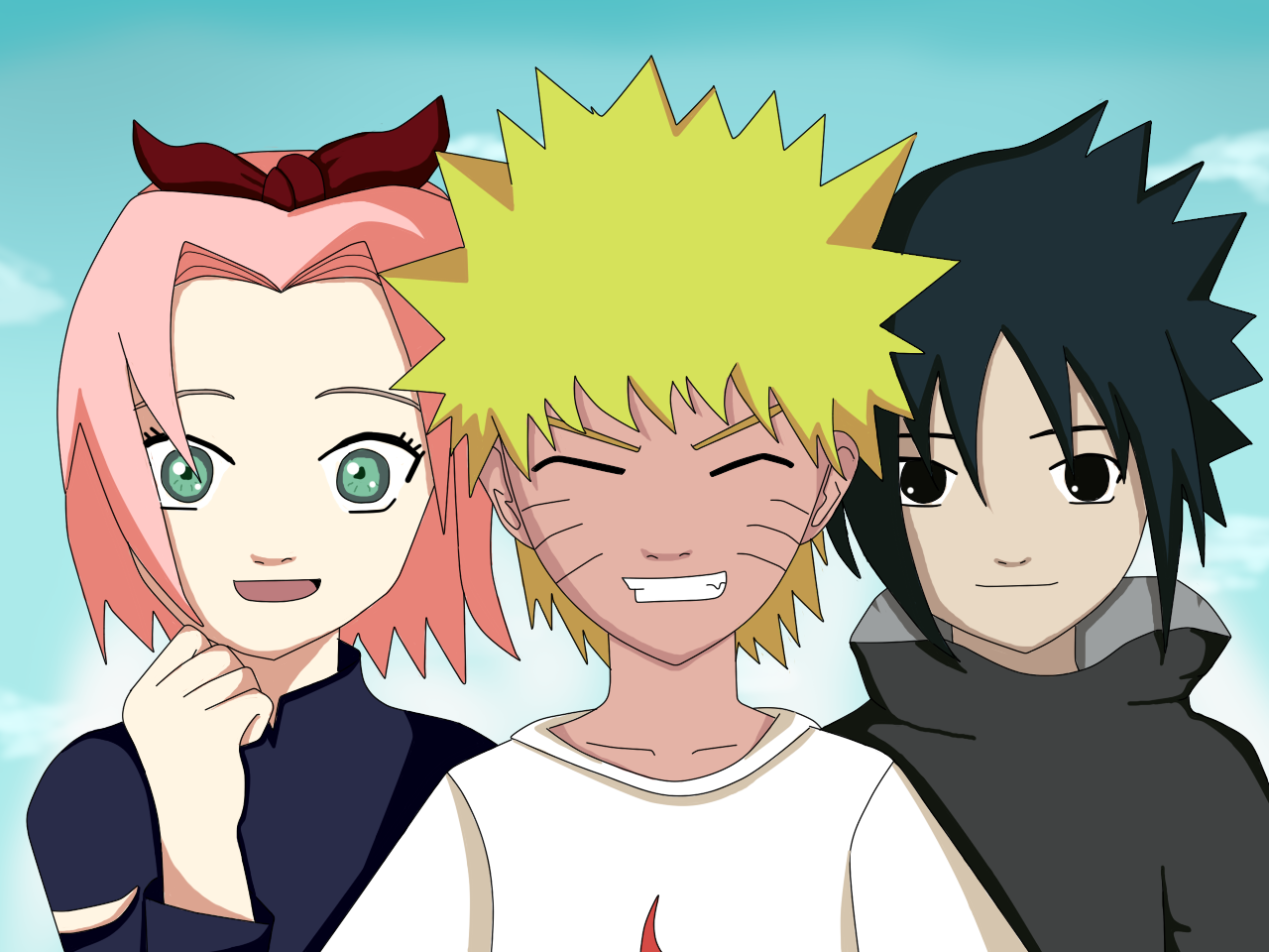 Liana's blog Naruto And Sakura And Sasuke