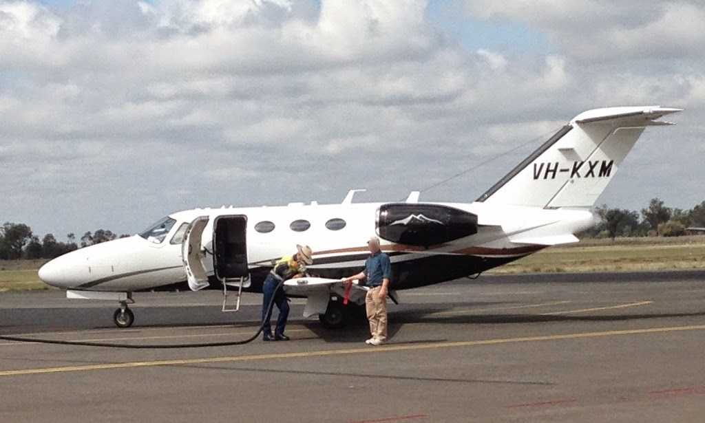 Central Queensland Plane Spotting Cessna 510 Citation Mustang Bizjet