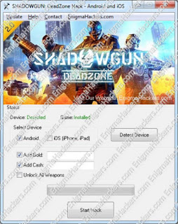 Shadowgun DeadZone Hack Cheat Tool v1.07 Android & iOS