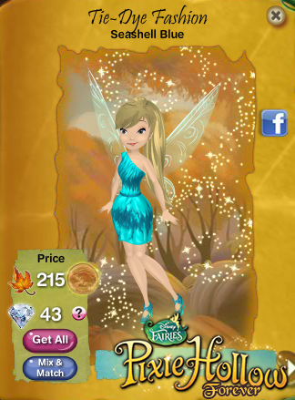 Pixie Hollow Forever: January Fashions ♥
