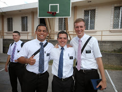 Elder Pau'u and Elder Glassett