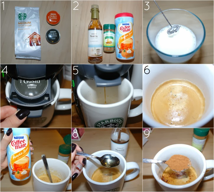 Pumpkin spice latte recipe and how to