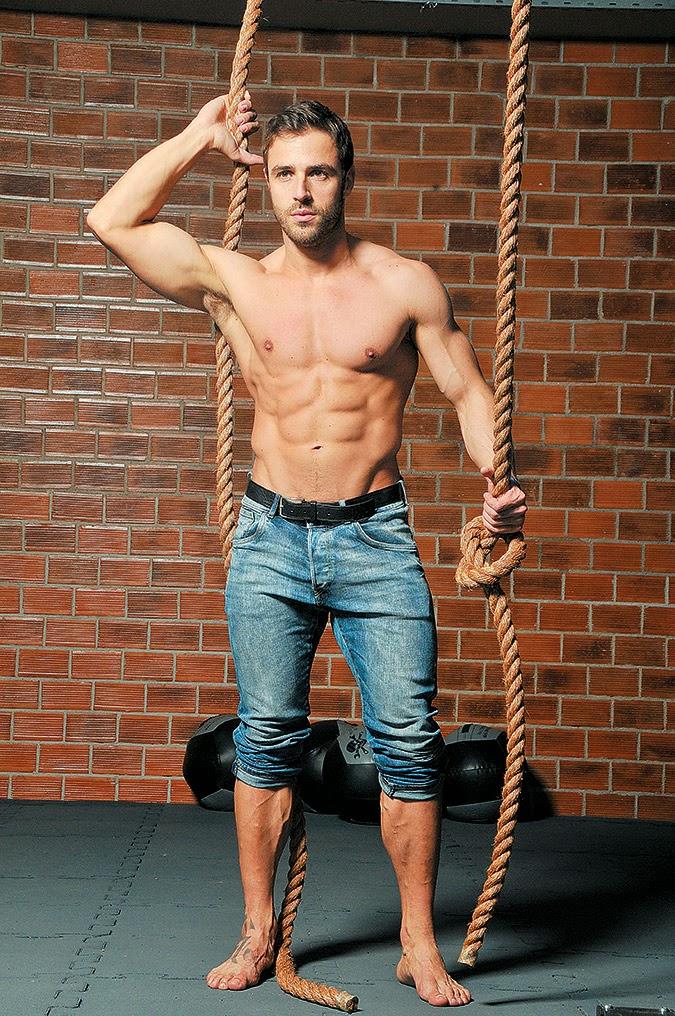 Димитрис Влахос - спортсмен и модель