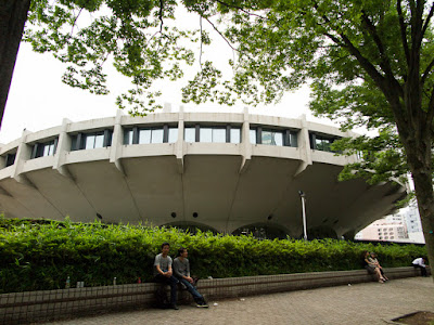 Yoyogi National Stadium Gymnasium No.2, Tokyo, Japan.