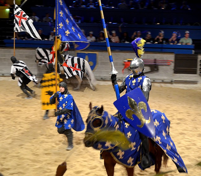 Blue Knight, Medieval Times Atlanta