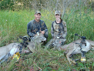 Archery bow kill -husband and wife
