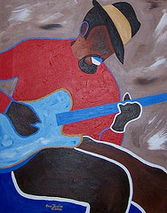 Old Jazz Guitarist (Sold)