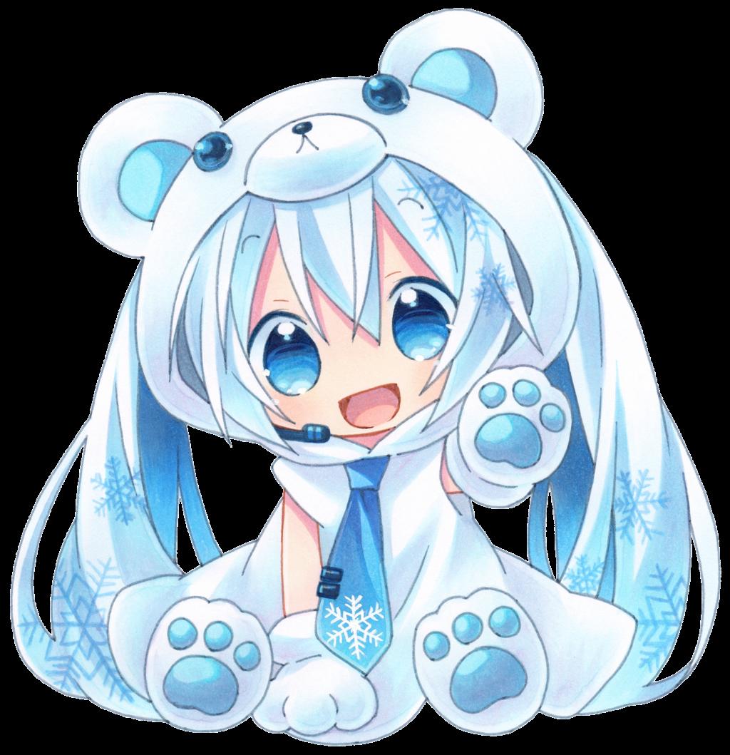 Render Miku Hatsune Snow