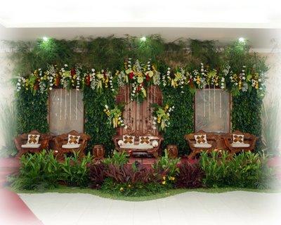 florista solution: kerjasama dekorasi wedding