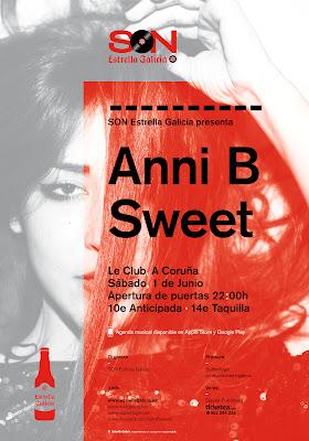Anni B Sweet en el LeClub
