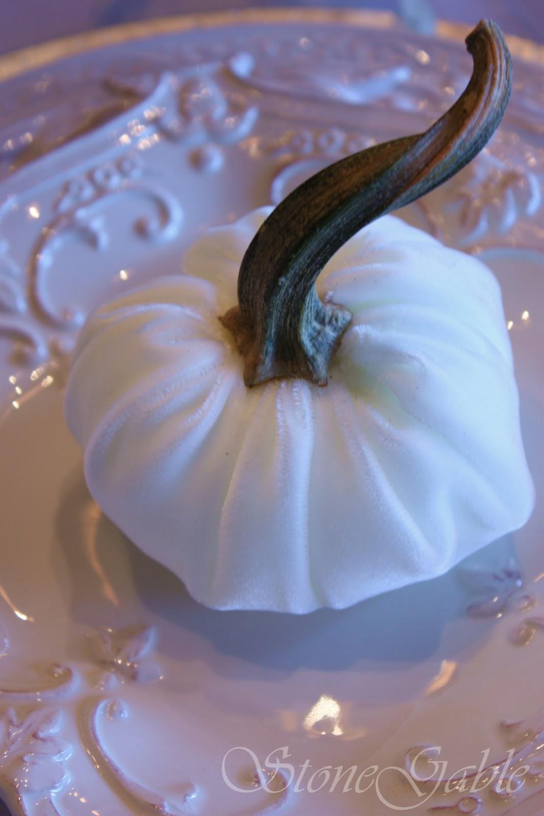 Pumpkin stems for crafts - Posh Velvet Pumpkin Tutorial