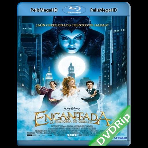 Encantada: La historia de Giselle (2007) DVDRip Español Latino