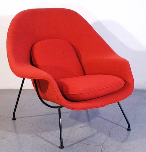 hans olsen fried egg chair