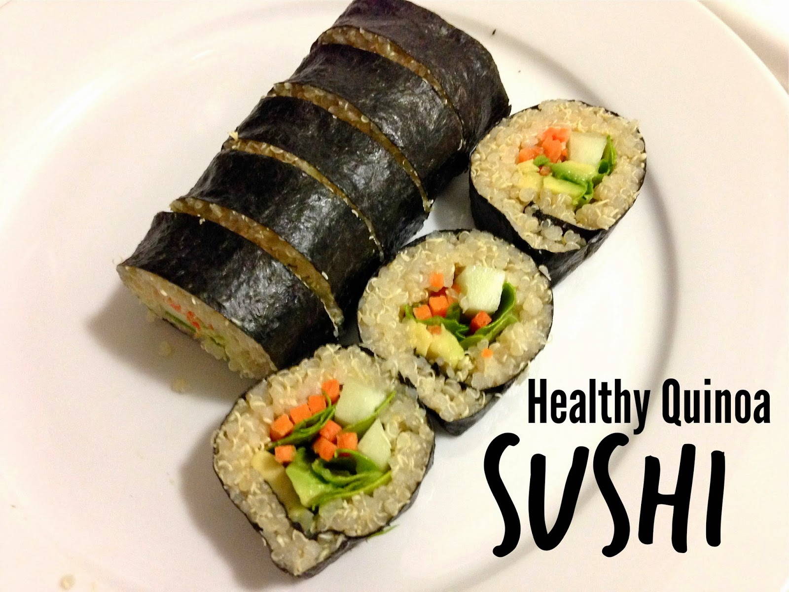 Quinoa Sushi Recipe — Dishmaps