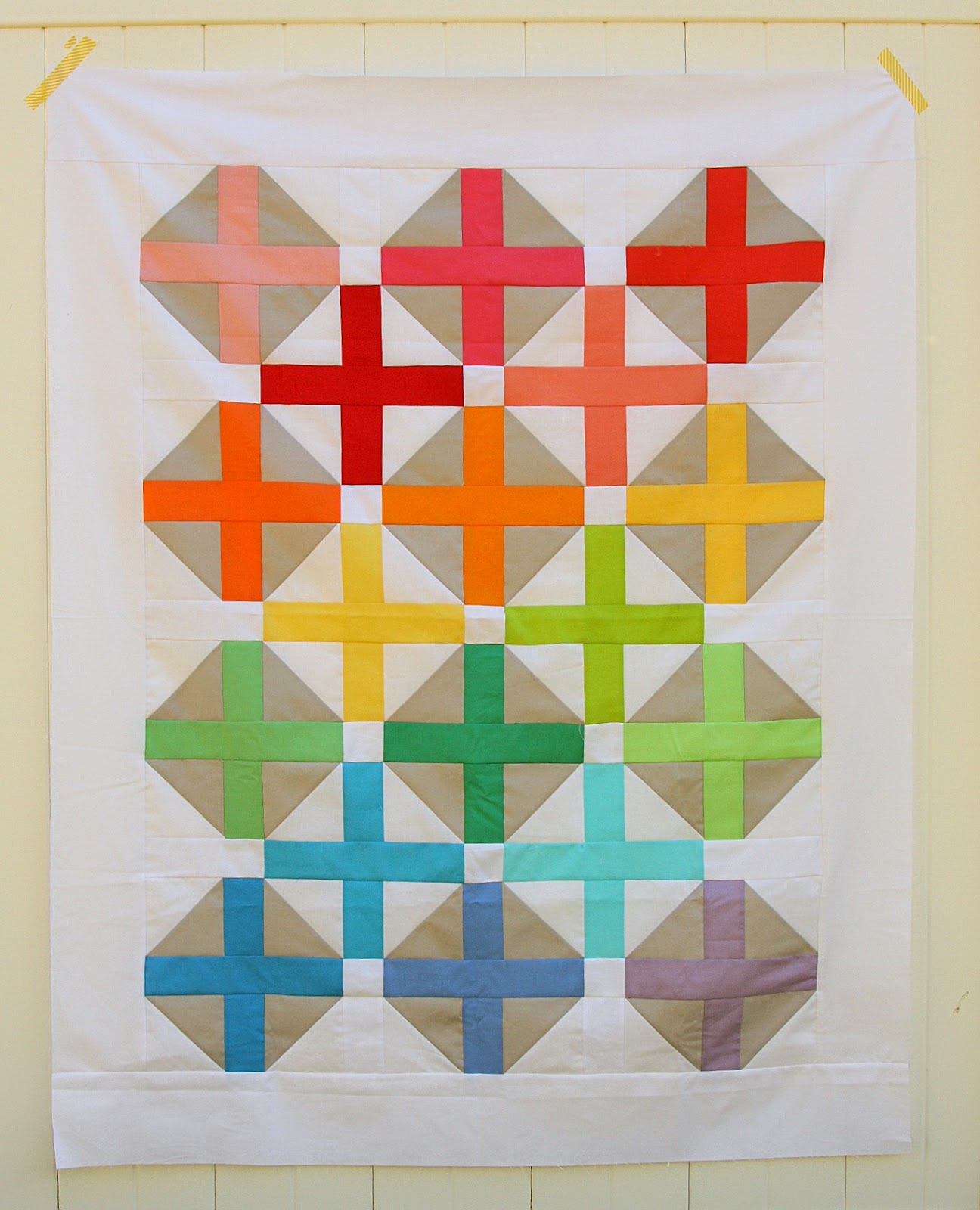 Crib size quilts for sale - This Pattern Includes Instructions For The Original Throw Size 67 X 78 As Well As New Additional Instructions For A Crib Size Version 39 X 51
