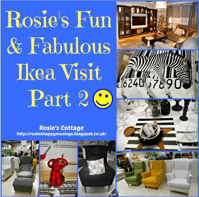 Rosies fun & fabulous Ikea visit part 2