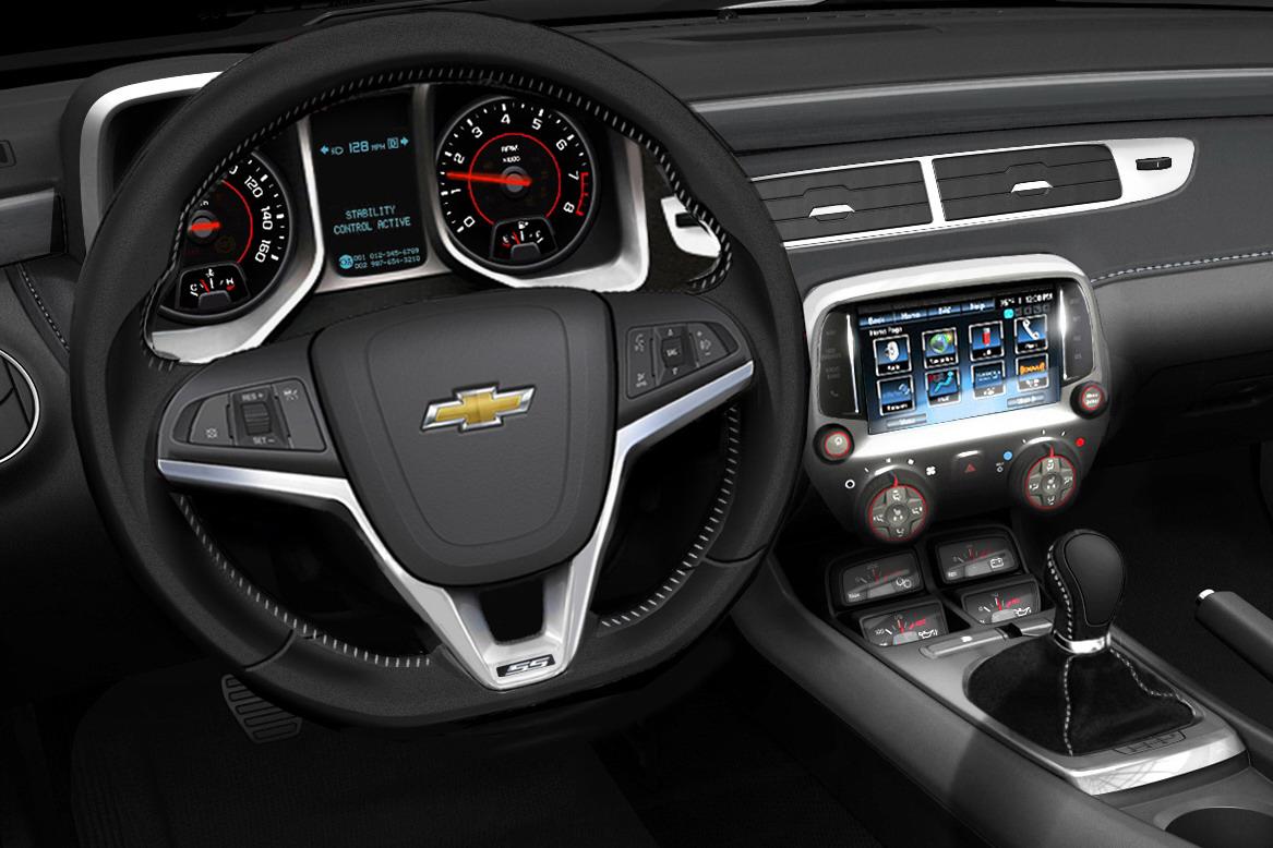 car on Chevrolet Camaro SS 2013