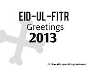 Eidulfitr greeting 2013 wallpapers made up of beautiful colour and best .