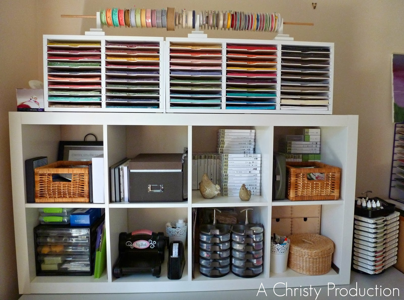 A christy production project organise craft desk complete for Crafting desks for sale