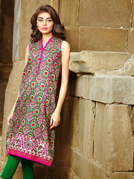 eid dresses with kaddi's styles