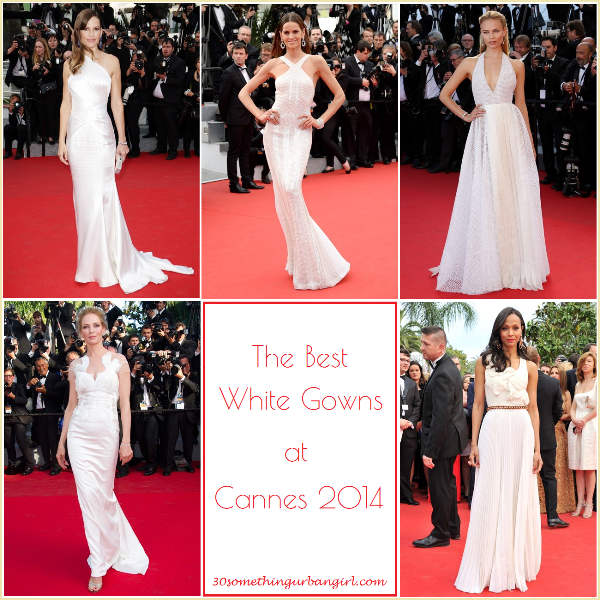 the best white gowns at Cannes 2014