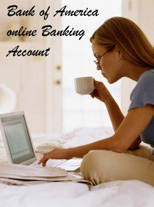 Bank of America online Banking Account