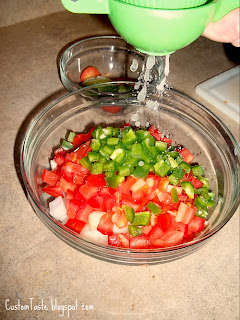 Easy Pico De Gallo by Custom Taste