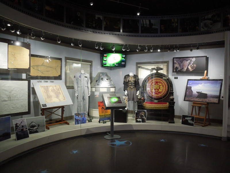 Universal Studios Hollywood costume and prop display