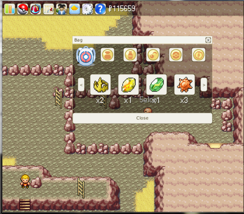 Pokemonium free pokemon mmo game screen shot