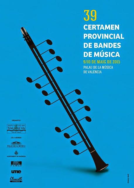 XXXIX Certamen Provincial de Bandas de Música de Valencia.