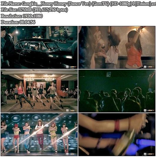 Download MV Gangkiz - Honey Honey (Dance Ver.) (GomTV Full HD 1080p)