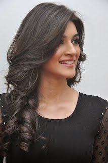 Actress Kriti Sanon Picture Gallery in Black Dress at 1 Nenokkadine Movie Audio Launch Function 0004.jpg