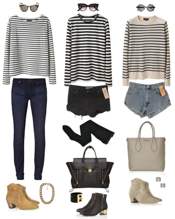 breton striped tee styling