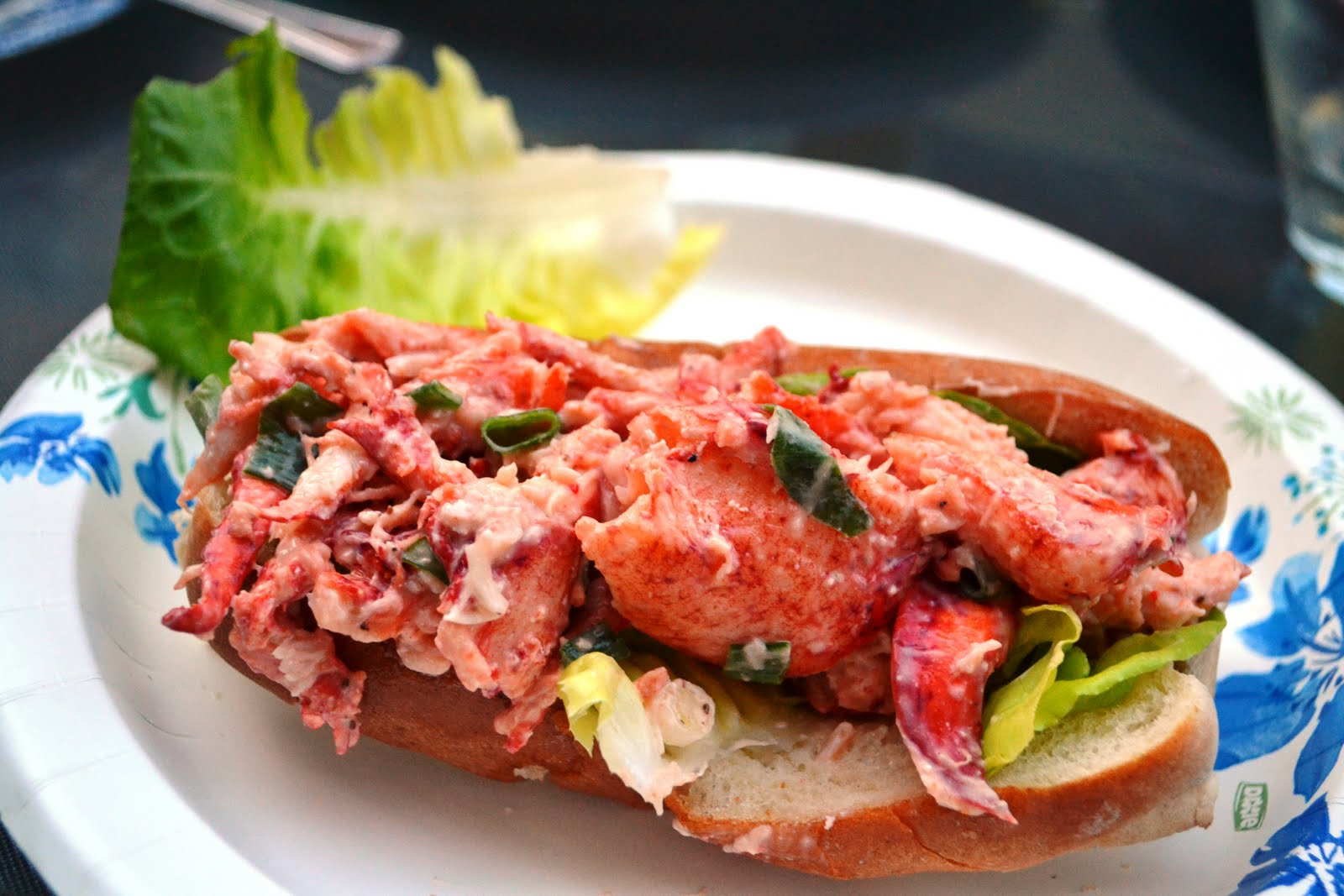 the lobster considered then eaten ham sandwich indicted we buttered the buns and toasted them on a grill lined them some bibb lettuce and stuffed them the lobster and voila we re were transported to