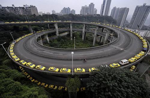 [Gambar] Perkhidmatan Teksi di China
