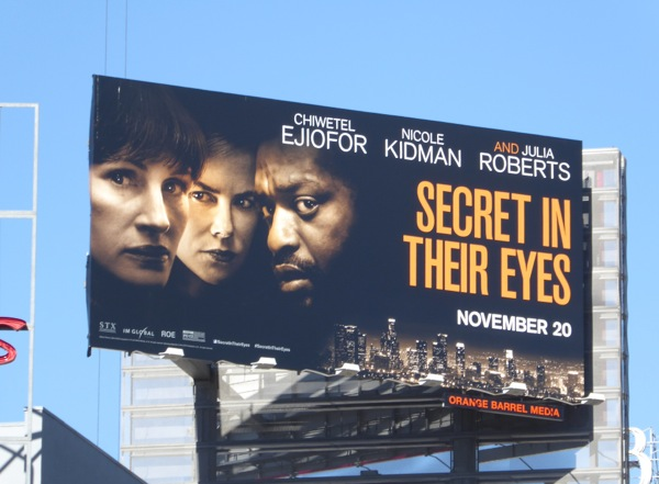 Secret in their Eyes film billboard