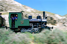 Locomotora Henschel de Arganda  año 1925.