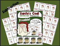 Free Santa's Coal Subtraction Game