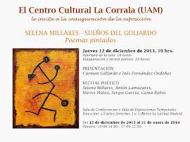 "Presentación de ""Cuadernos de Sassari"" de Selena Millares"
