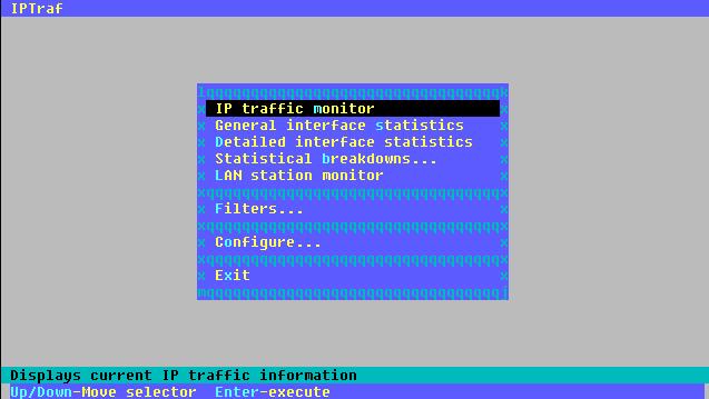 Linux: Monitorizar el ancho de banda y conexiones de una red para la salida a Internet