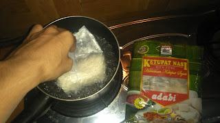 cara memasak lontong