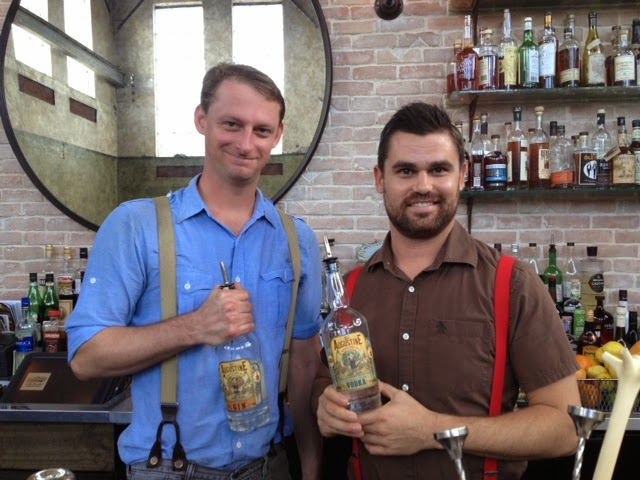 Friday and Saturday Nights at the St Francis Inn - How to Make the Perfect Gin Cocktail 2 Zach+and+Anthony+ St. Francis Inn St. Augustine Bed and Breakfast