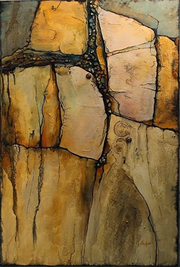 Carol Nelson Fine Art Blog Geological Abstract Painting Wood Rock Carol Nelson Fine Art