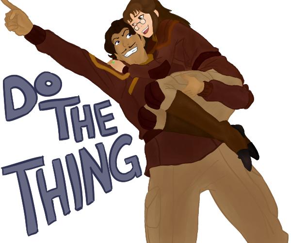 Do The Thing, Zhu Li! by Hecarti