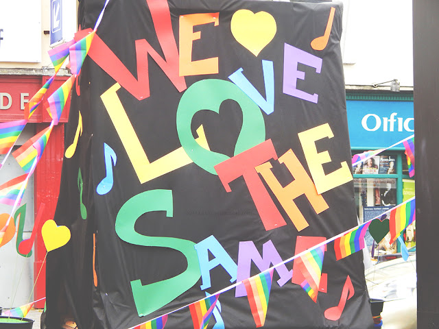 we Love the same cork pride parade