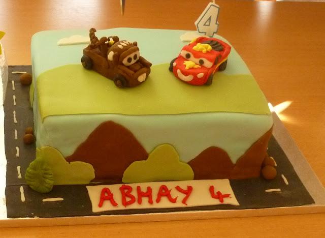 RUCHI: Birthday cake
