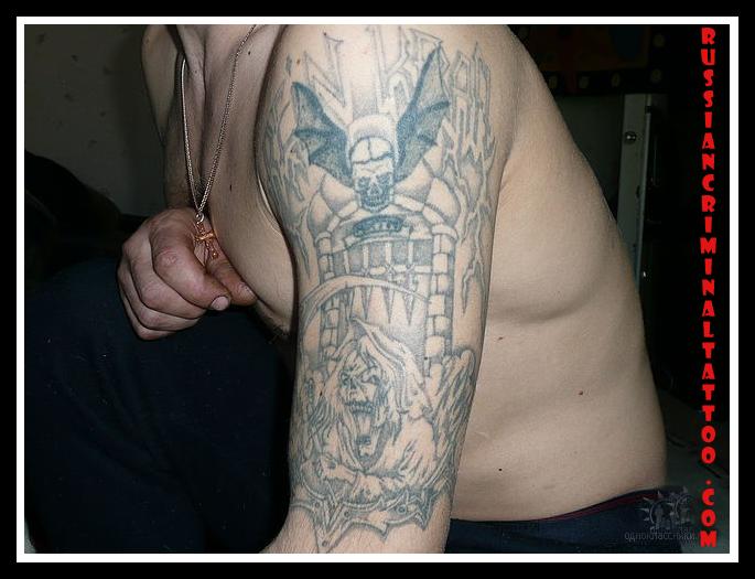 Фото тату тюремных бардаков 159