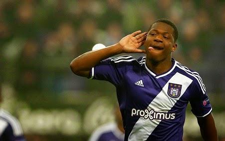 Chelsea eye Anderlecht teenager Aaron Iseka