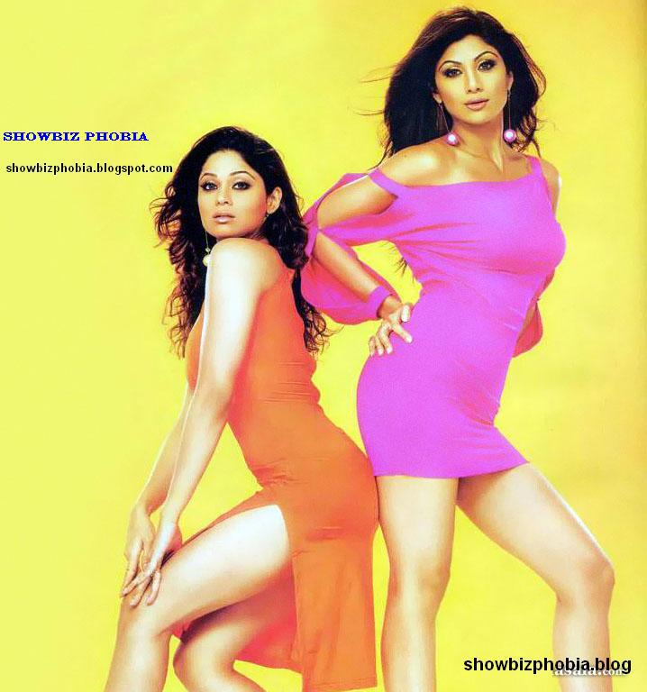 Shetty 1 - Shilpa and Shameta Shetty Sisters Hot Pics Together